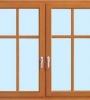 Dvokrilno leseno okno